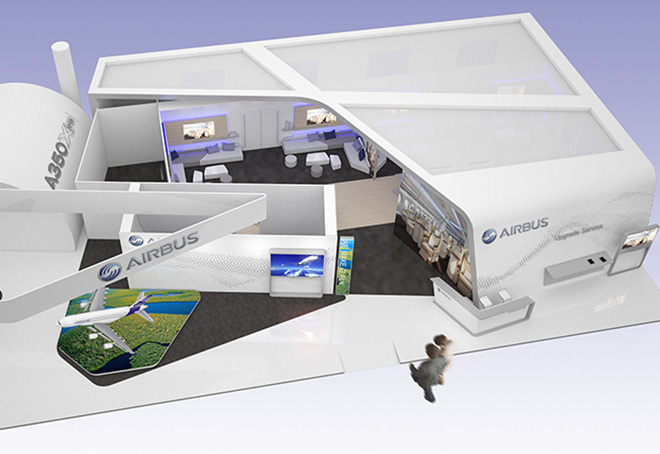 Airbus Aircraft Interiors EXPO 2014