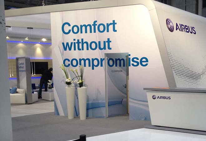 Airbus Messestand